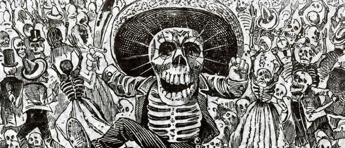 Dia de los Muertos в Мексике