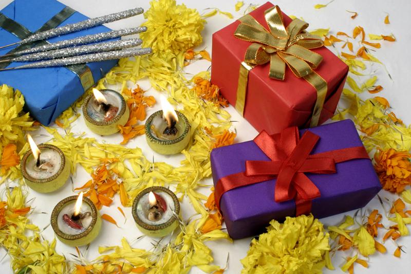 Традиция обмена подарков на Дивали