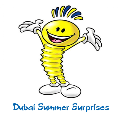Modhesh - талисман фестиваля Летние сюрпризы в Дубае