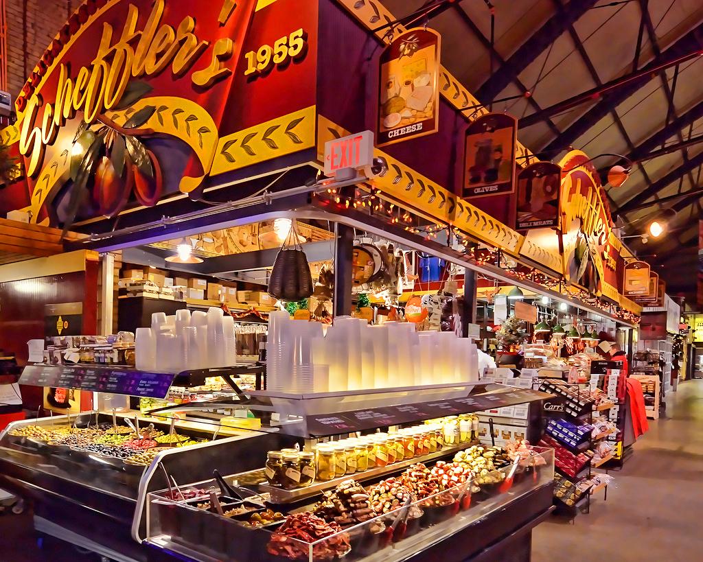 Рынок Сент-Лоуренс в Торонто