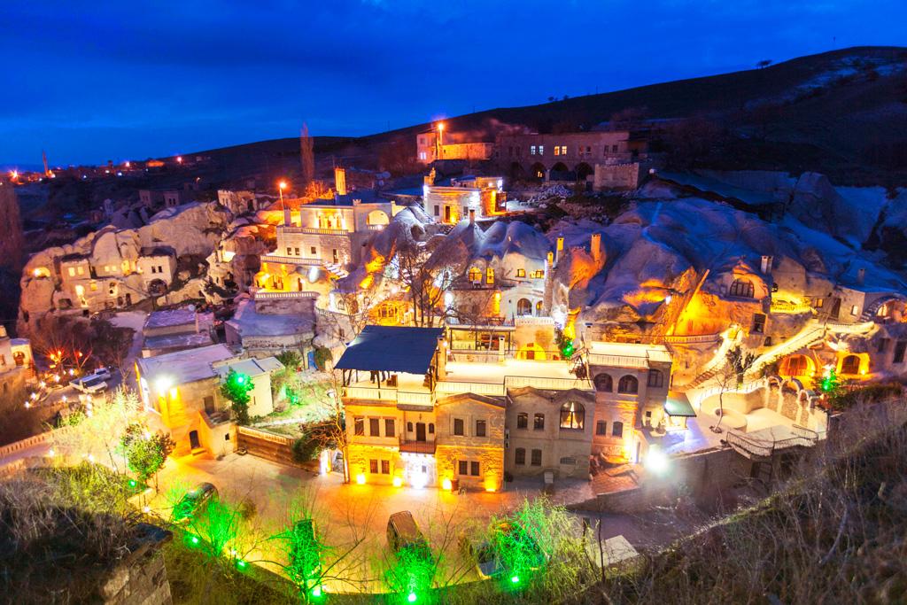 Gamirasu Cave Hotel в Турции (Каппадокия)