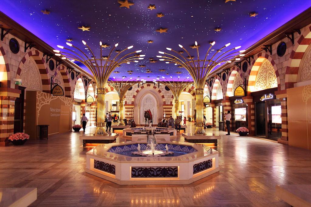 Голд сук в торговом центре Дубай Молл