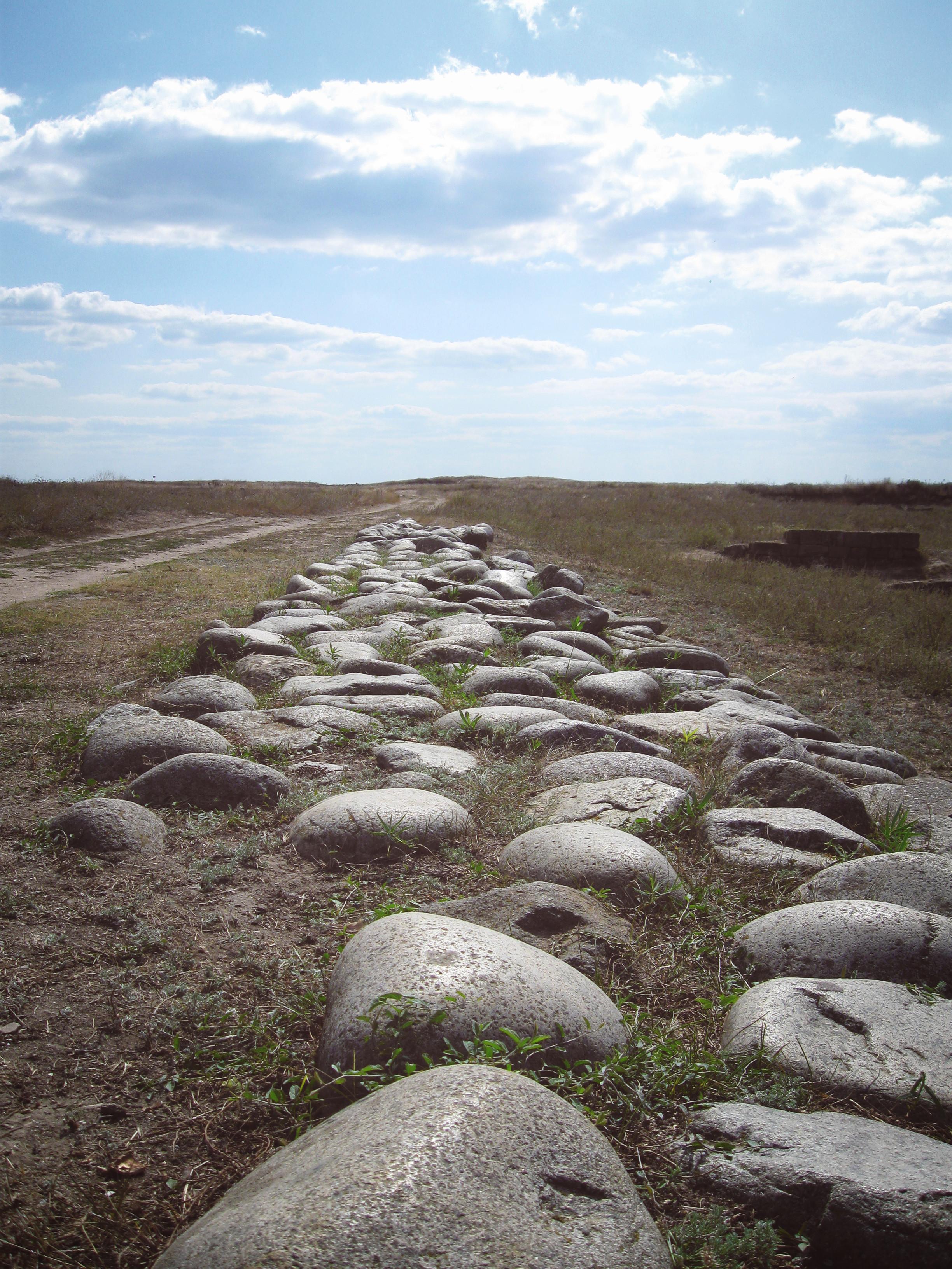 Дорога в древнегреческой Ольвии, Очаковский район