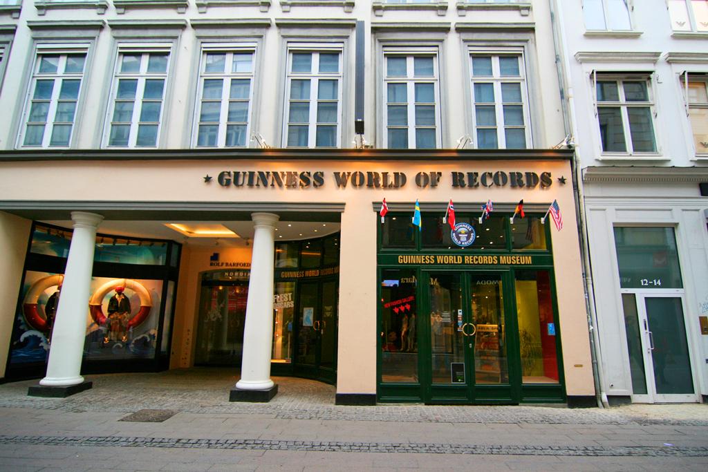 Музей рекордов Гиннесса в Копенгагене