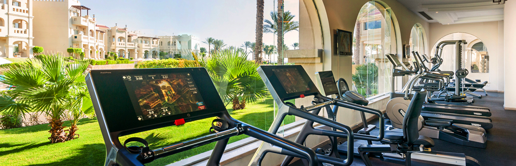 Тренажерный зал в отеле Rixos Sharm El Sheikh