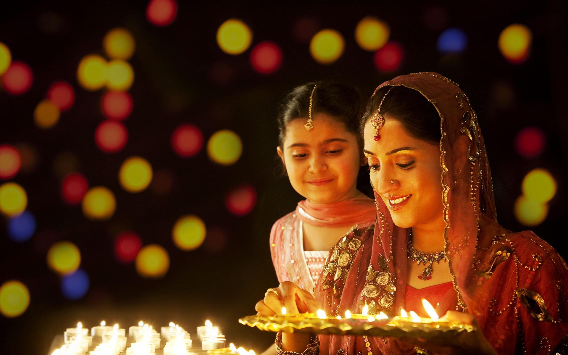 Фестиваль Дипавали в Индии