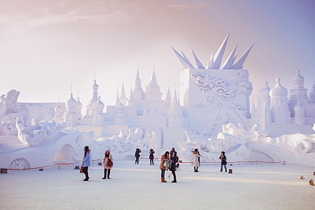Ежегодный международный фестиваль льда и снега в Харбине