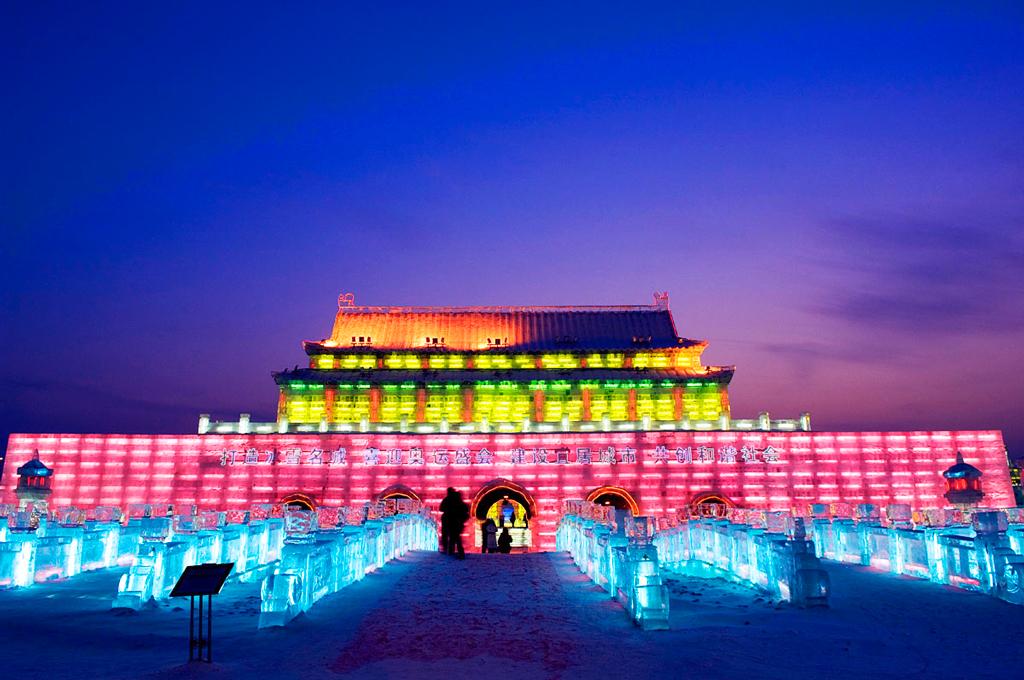 Международный фестиваль льда и снега в Харбине, Китай