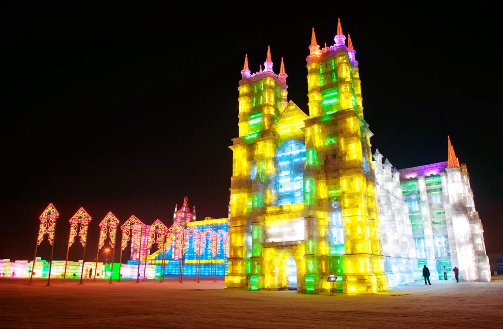 Фестиваль льда и снега, Харбин, Китай