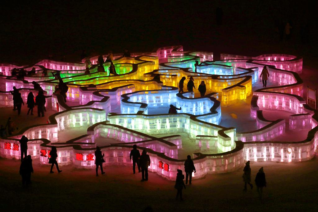 Фестиваль льда и снега 2015