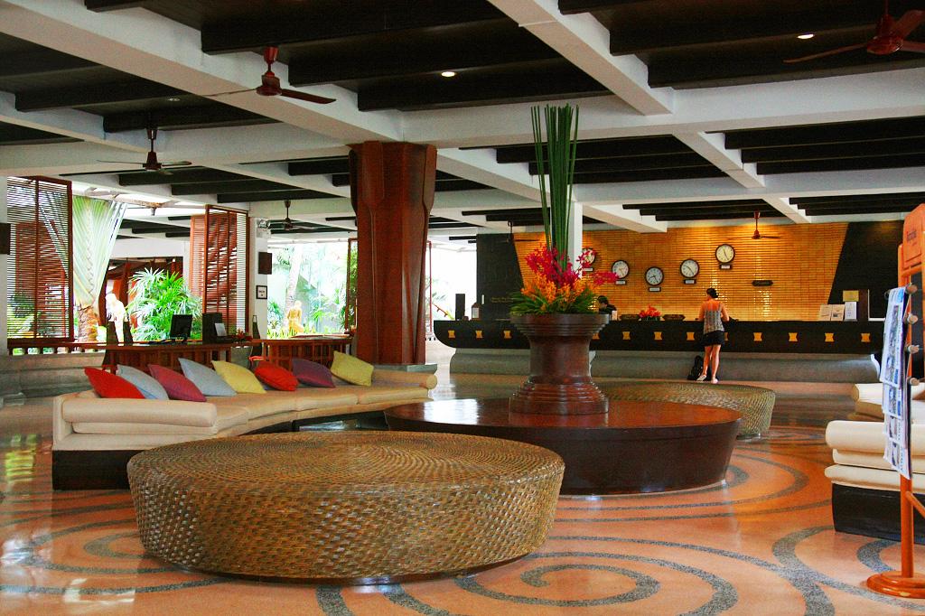 Лобби Imperial Boat House в Таиланде (Ко-Самуи)