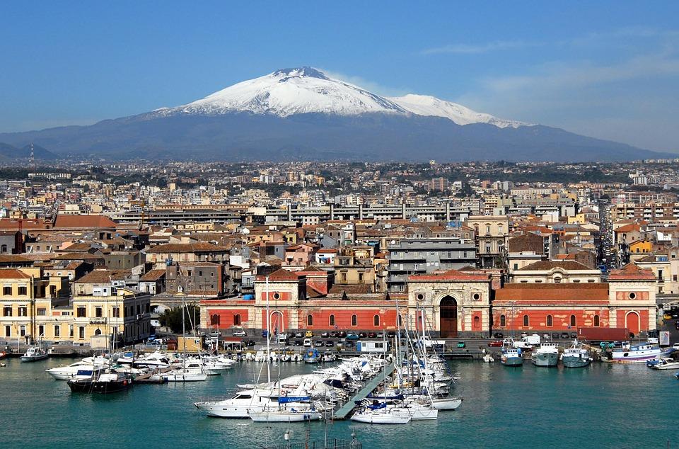 Этна Сицилия