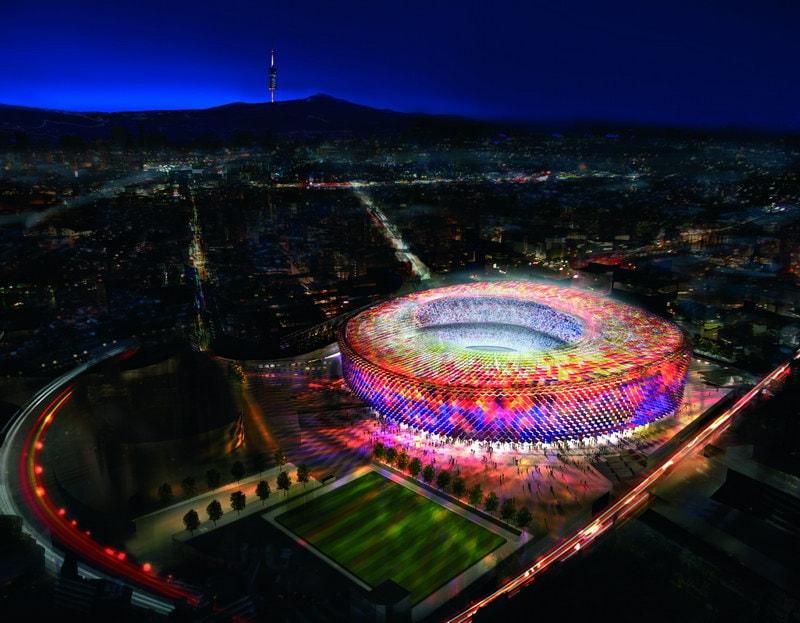 Как будет выглядеть стадион Камп Ноу после реконструкции в  2021 году