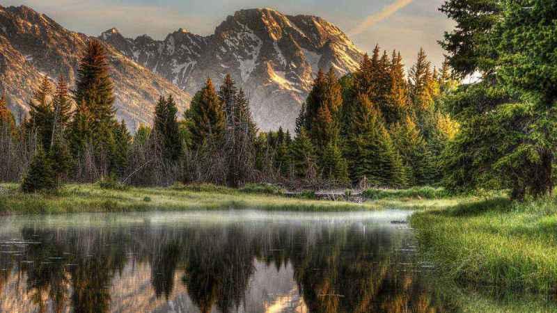 Природа озера Иссык-Куль