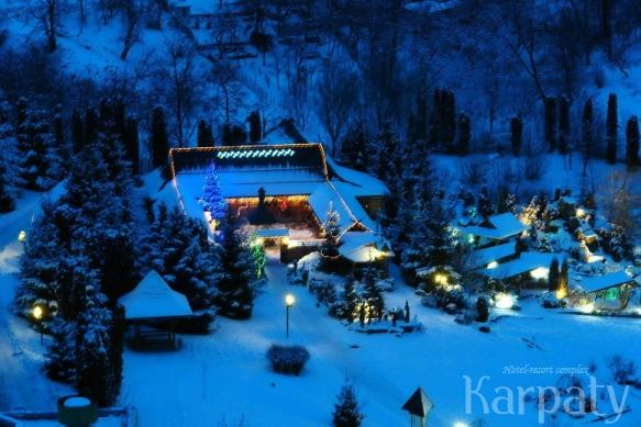 Новый год в гостинично-курортном комплексе Карпаты