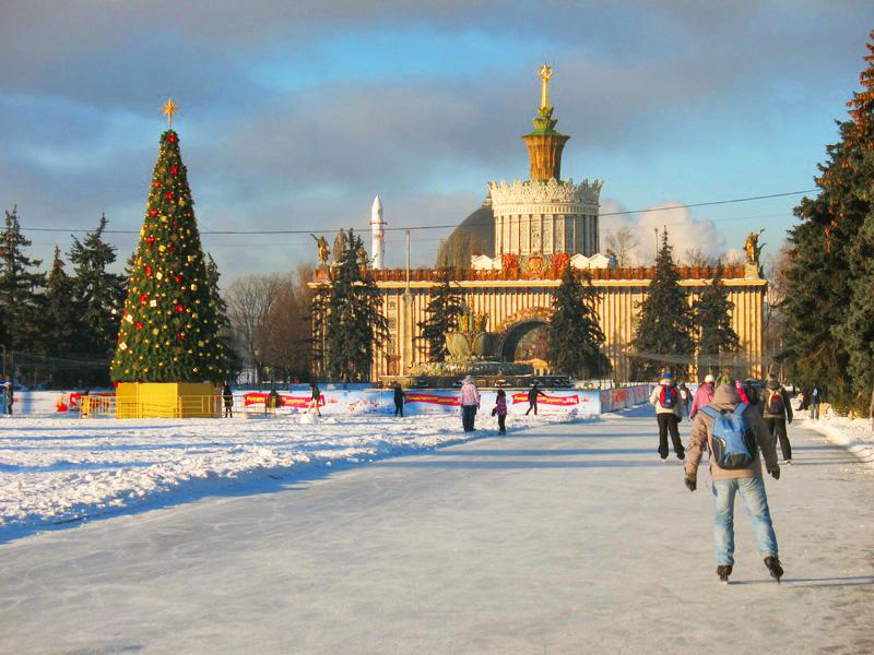 Каток на ВДНХ, Москва