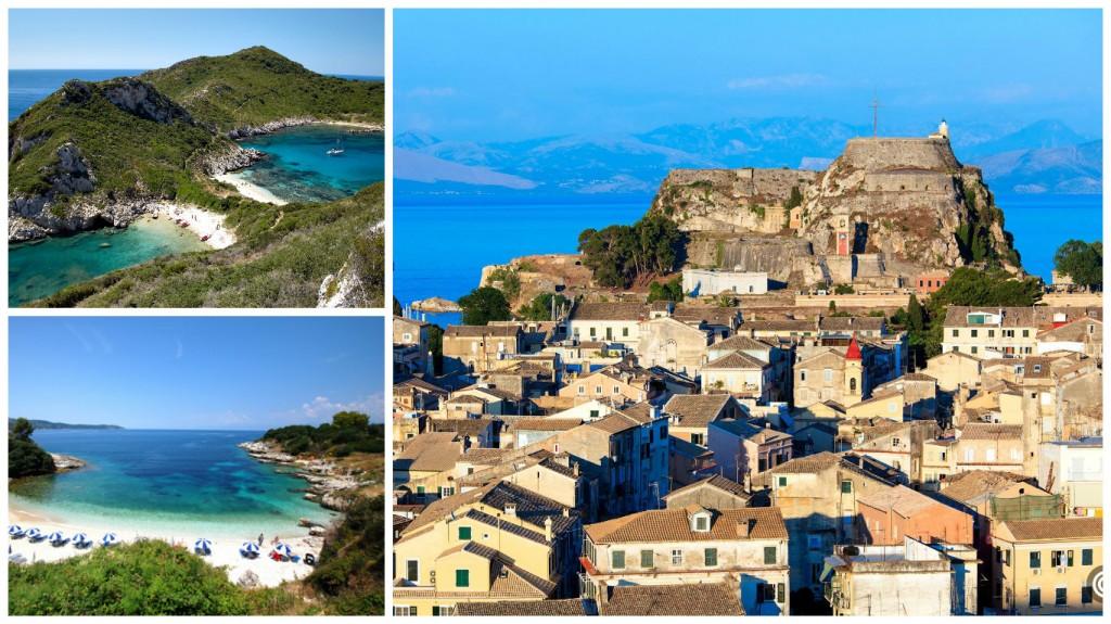 Курортные острова Греции: Корфу