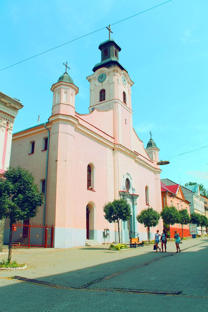 Костел Святого Юрия в Ужгороде