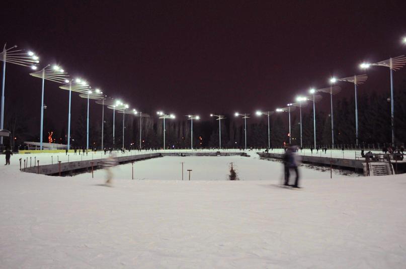 Каток Ледовый стадион в Киеве