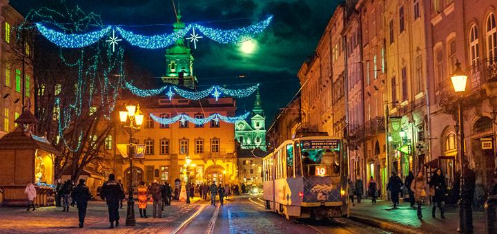 Львовская рождественская ярмарка