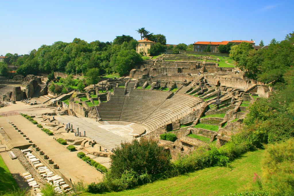 Древнеримский амфитеатр, Лион