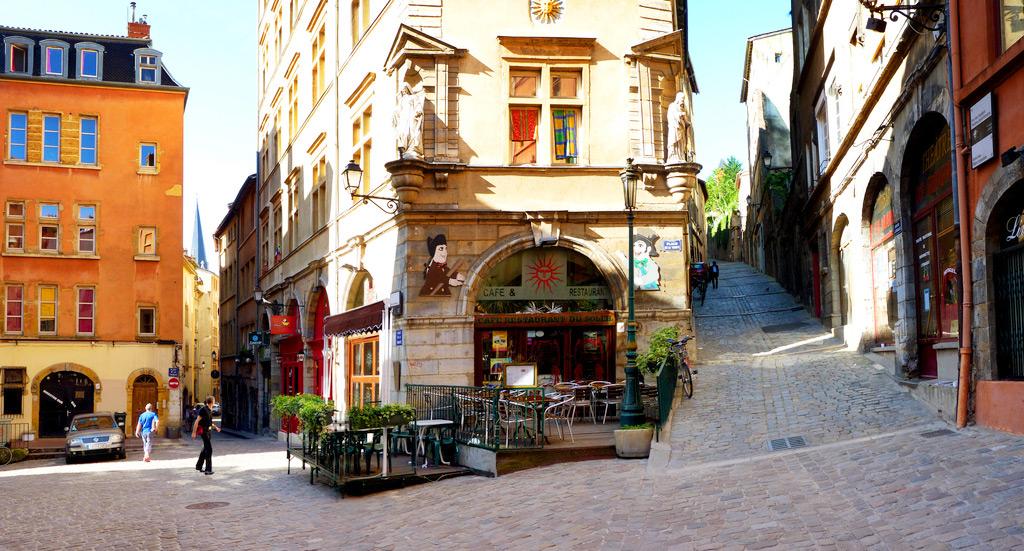Старый город, Лион