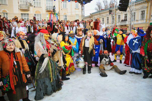 Фестиваль Подольская Маланка в Каменец-Подольске