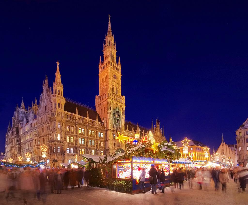 Рождественские праздники в Мюнхене