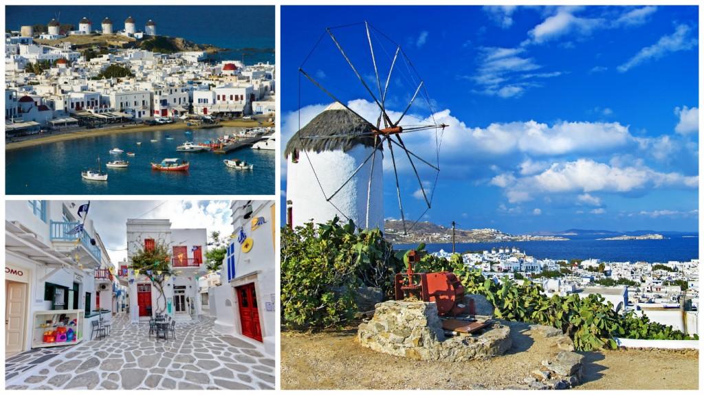 Курортные острова Греции: Миконос