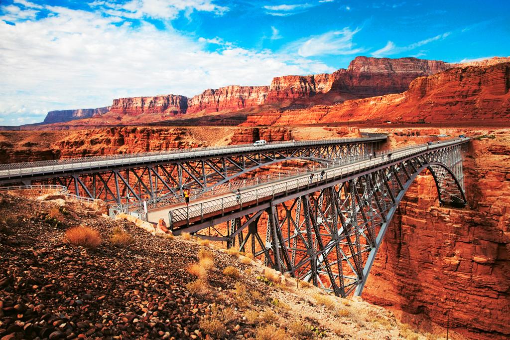Мост Навахо в Аризоне