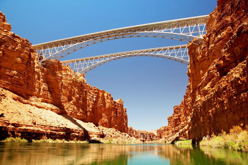 Мост Навахо в Аризоне, США