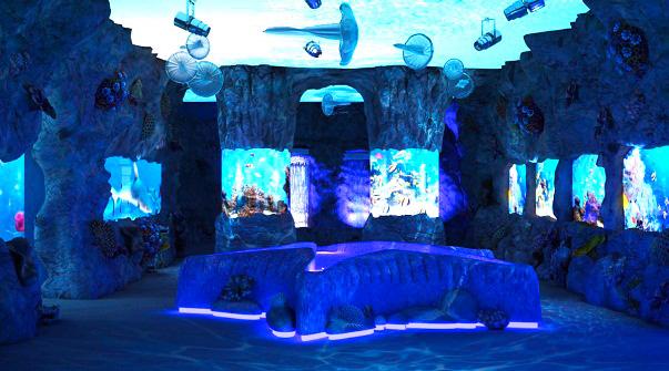 Киевский океанариум Морская сказка