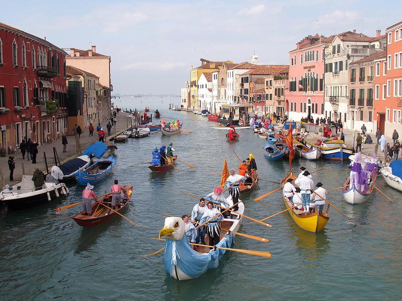 Открытие Венецианского карнавала - часть 2