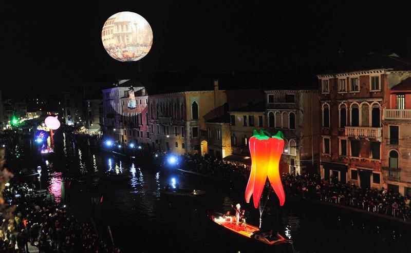 Открытие Венецианского карнавала