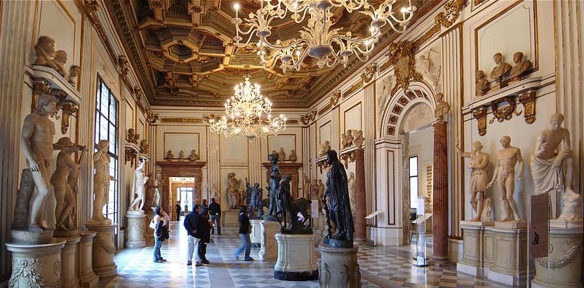 Салон в Палаццо Нуово