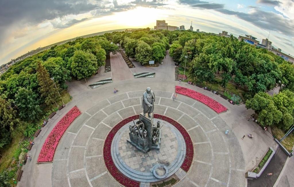 Городской сад им. Шевченко в Харькове