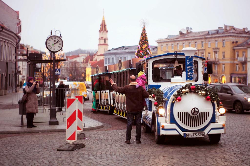 Рождественский «Paulig» поезд
