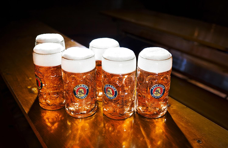 Пиво на Октоберфест