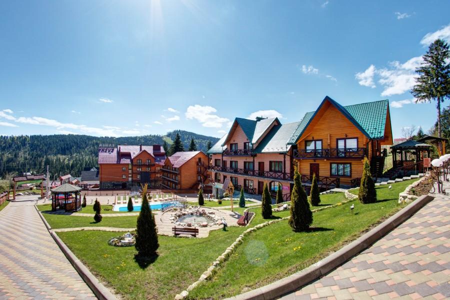Отель Подгорье в Полянице