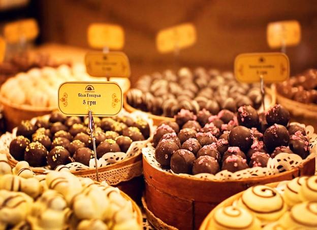 Большая шоколадная ярмарка