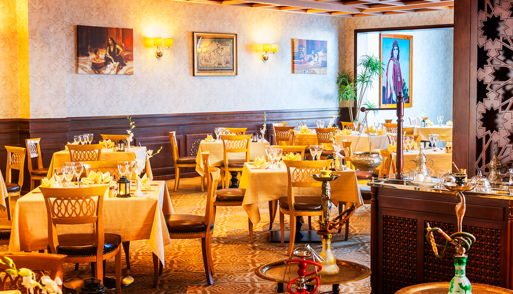 Ресторан Papyrus, Rixos Sharm El Sheikh