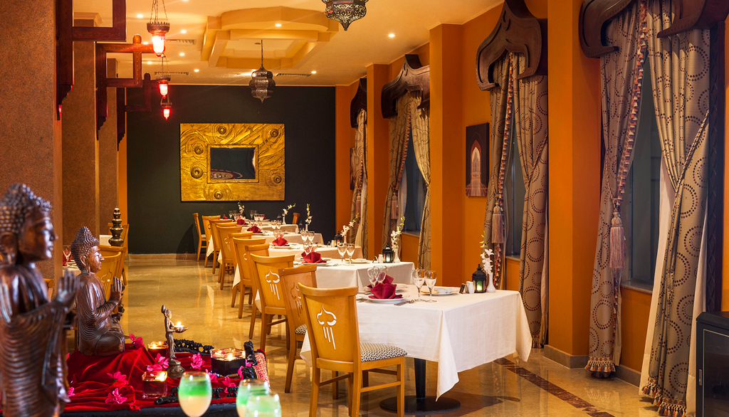 Ресторан Tajmahal, Rixos Sharm El Sheikh