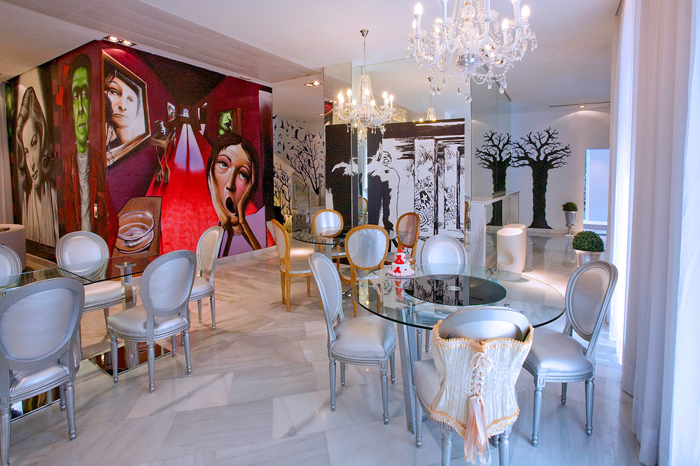 Ресторан в Dormirdcine Hotel Madrid