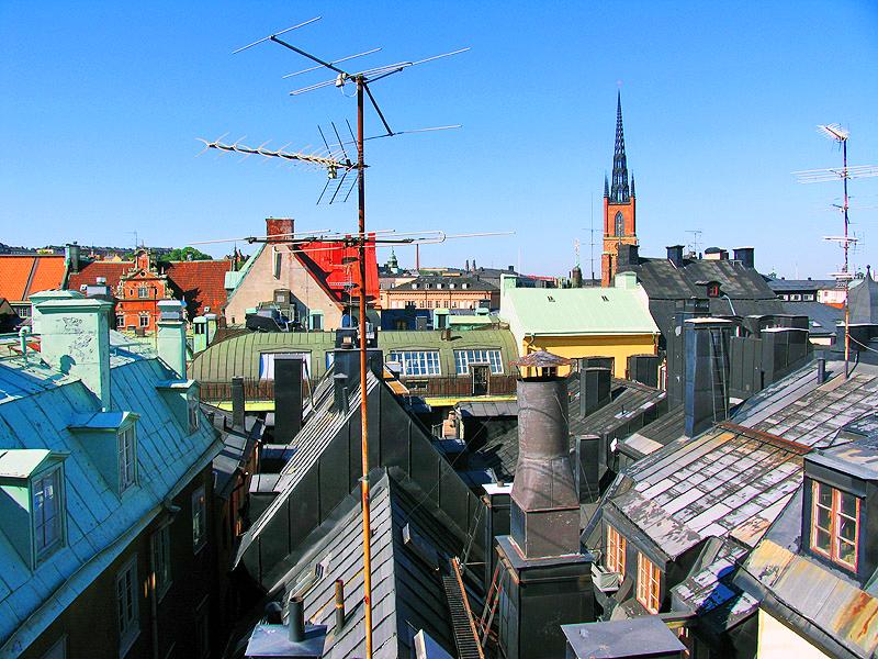 Экскурсии по крышам Стокгольма
