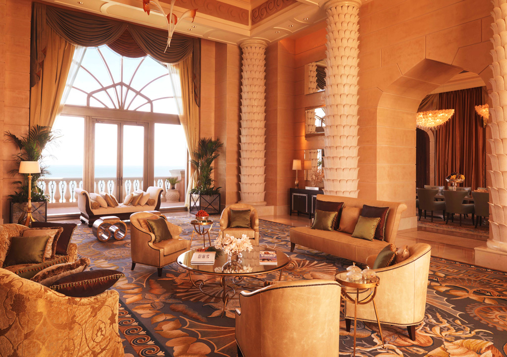 Royal Bridge Suite в отеле Atlantis The Palm