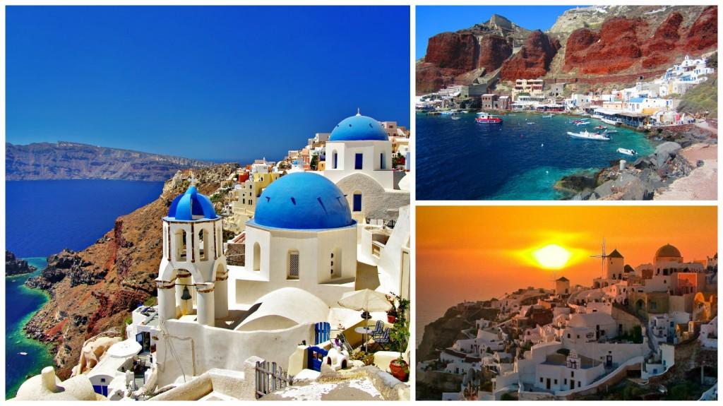 Курортные острова Греции: Санторини