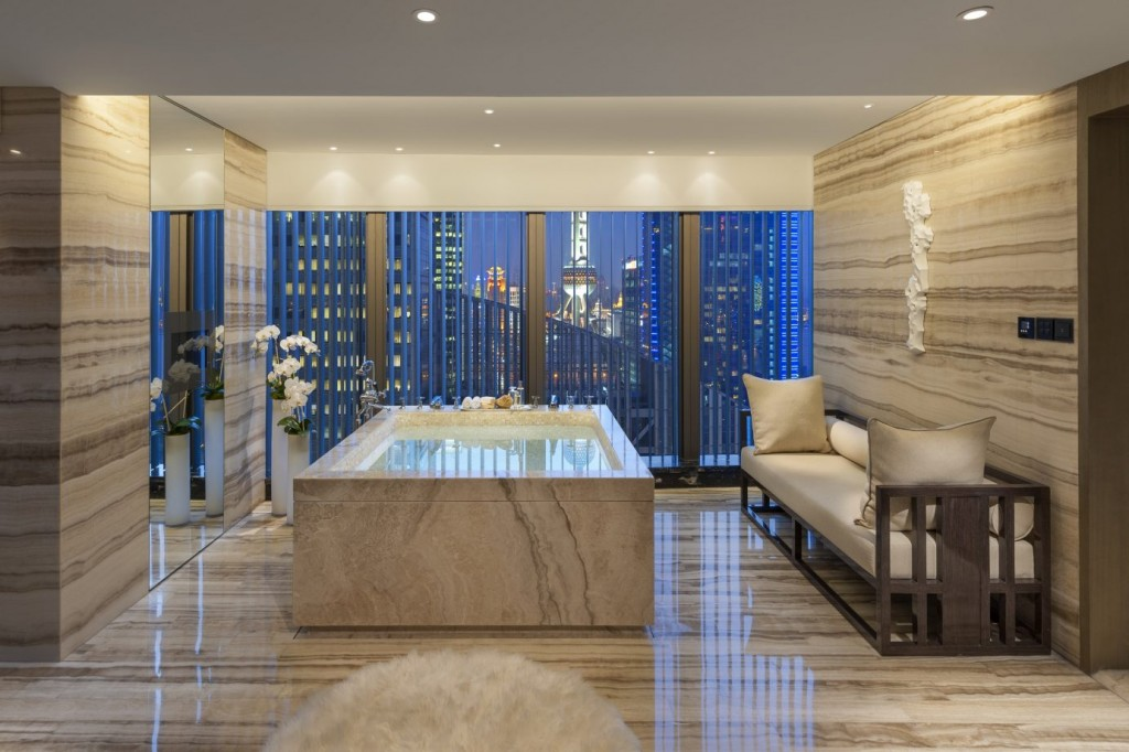 Presidential Suite в Mandarin Oriental Pudong