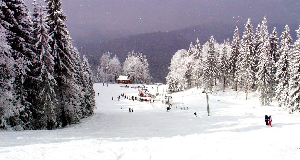 Горнолыжный курорт Славское, Украина