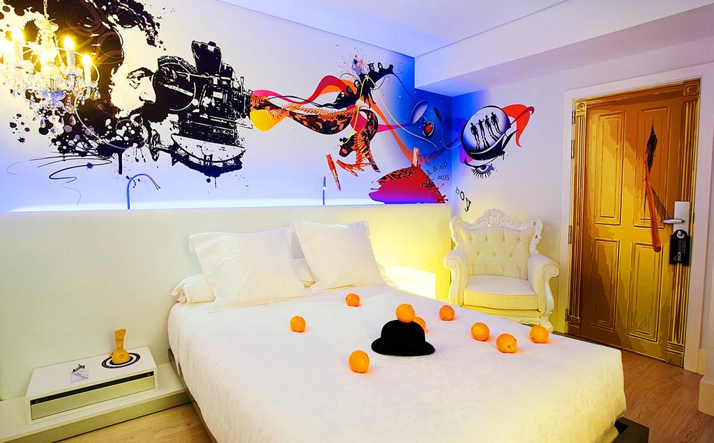 Номер в Dormirdcine Hotel Madrid