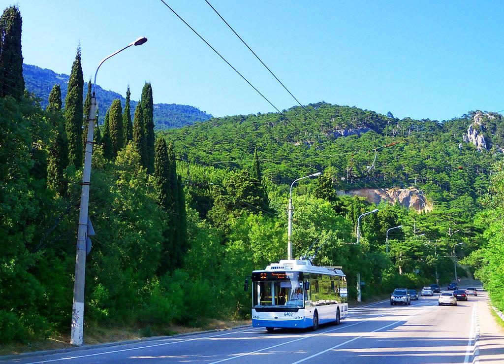 Троллейбус Симферополь-Ялта - самый длинный маршрут